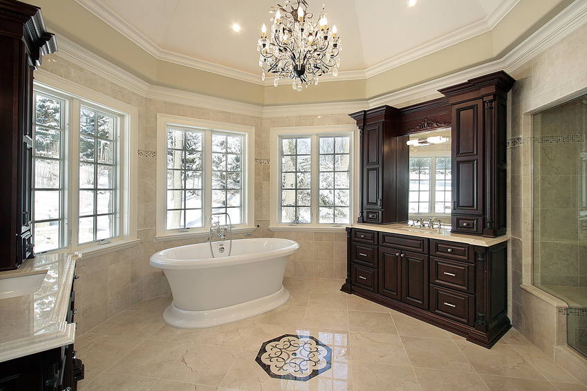 Master Bathroom Ideas His And Hers Bath Tubs