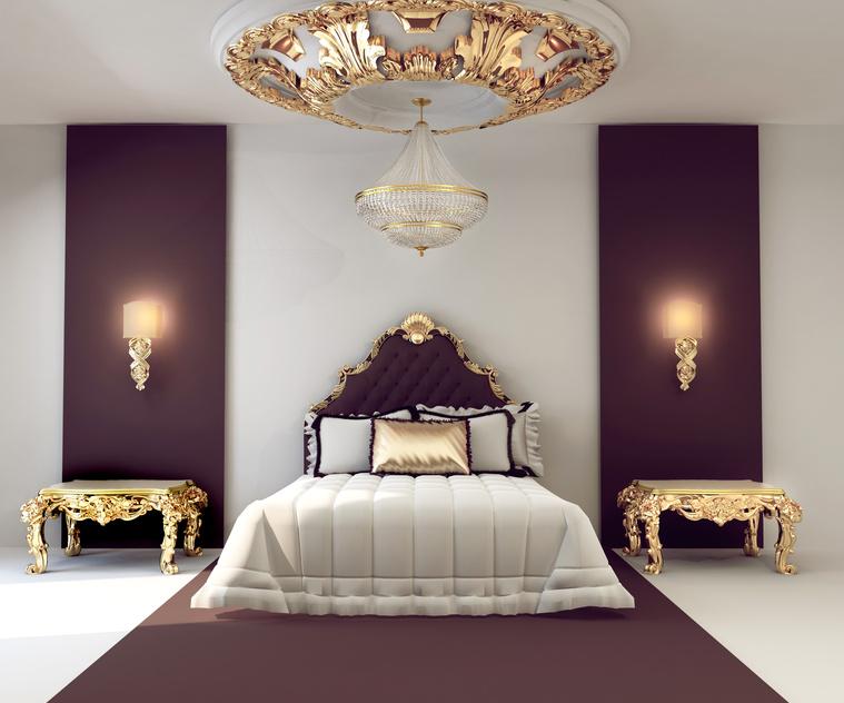 belles chambres a coucher - stuckrosetten stuck dekor hardt gmbh
