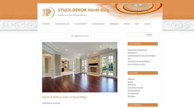 Stuck blog - Stuck dekor hardt ...